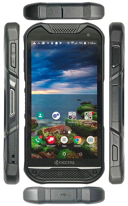 Rugged Handhelds: Kyocera DuraForce PRO 2 rugged Android smartphone