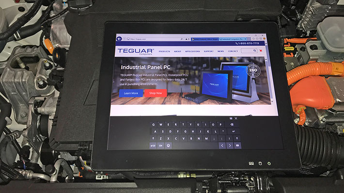 Rugged Panel PCs: Teguar TP-3485-15