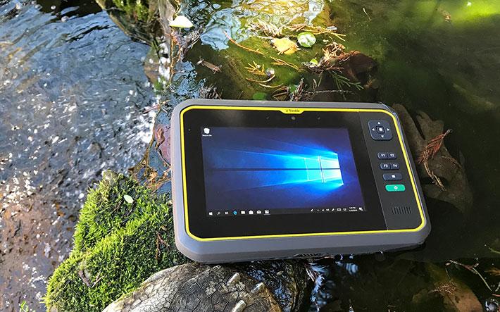Rugged Tablet PCs: Trimble Yuma 7