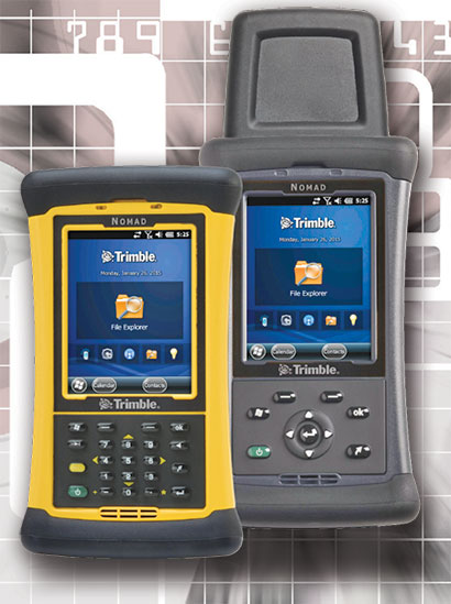 Rugged Pc Review Com Handhelds And Pdas Trimble Nomad 1050