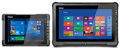 It S Smaller Than Looks In Pictures The Image Below Shows How T800 Compares With Getac Larger 11 6 Inch F110 Tablet See Our Review