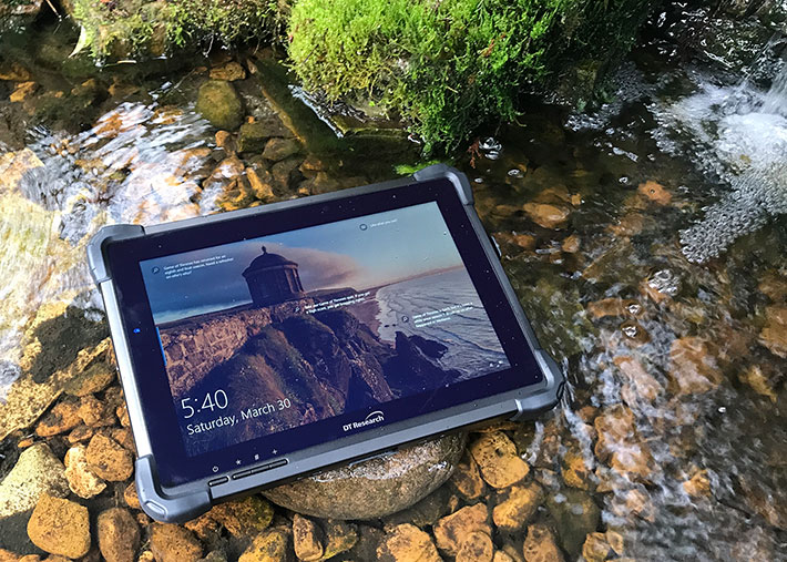 DT Research DT365 Mobile Rugged Tablet Includes Charging Cradle
