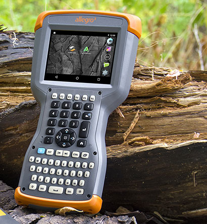 Rugged handhelds: Juniper Allegro 3 Handheld